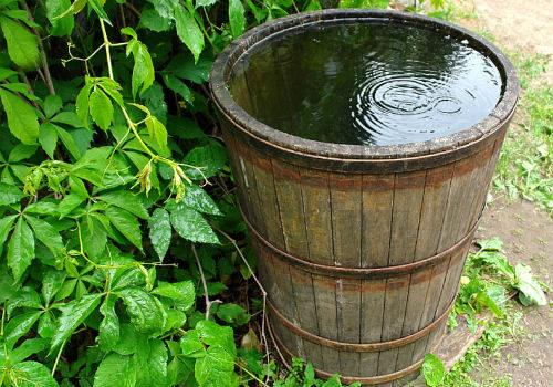 подготовка воды для полива